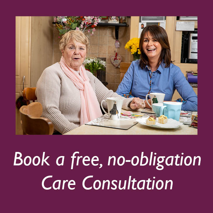 Book a free care consultation with your local Home Instead Senior Care