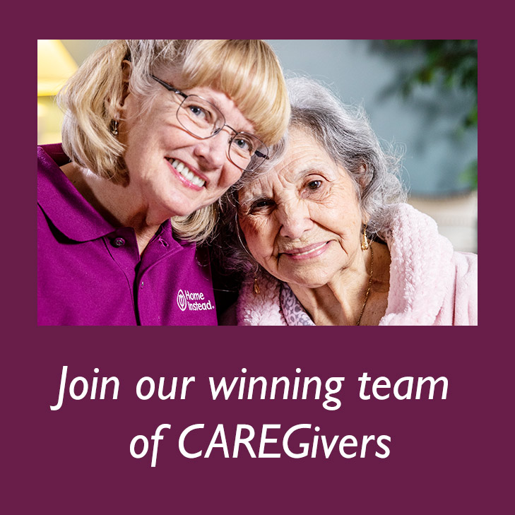Join our winning team  of CAREGivers